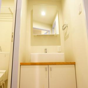 シャトレ市ヶ谷(9階,3780万円)の化粧室・脱衣所・洗面室