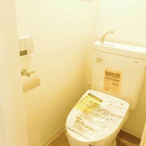 鍋屋横丁住宅(5階,)のトイレ
