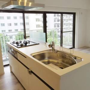 鍋屋横丁住宅(5階,)のキッチン