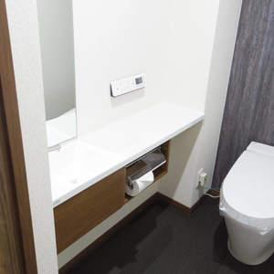 朝日マンション新中野(9階,)のトイレ