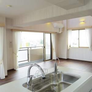 朝日マンション新中野(9階,)の居間(リビング・ダイニング・キッチン)