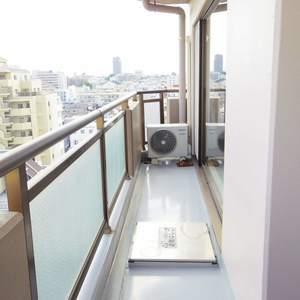 朝日マンション新中野(9階,)のバルコニー