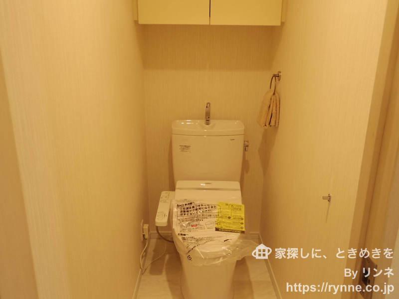 モナーク新中野ステーションプラザのトイレ1枚目