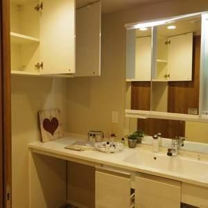 シーアイマンション新中野(13階,6180万円)の化粧室・脱衣所・洗面室