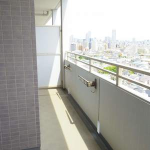 シーアイマンション新中野(13階,6180万円)のバルコニー