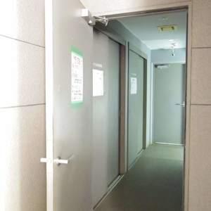 シーアイマンション新中野のごみ集積場