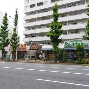 日神デュオステージ新中野の周辺の食品スーパー、コンビニなどのお買い物