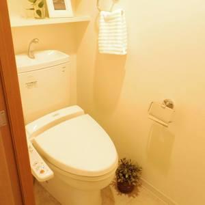 日神デュオステージ新中野(3階,4050万円)のトイレ