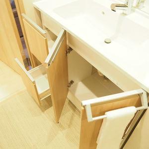 ライオンズマンション代々木(1階,)の化粧室・脱衣所・洗面室