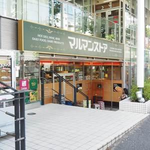 ライオンズマンション代々木の周辺の食品スーパー、コンビニなどのお買い物