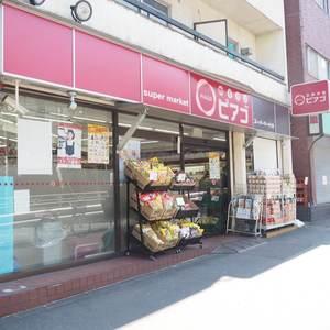 メゾンドール代々木の周辺の食品スーパー、コンビニなどのお買い物