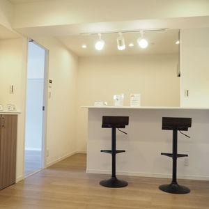 メゾンドール代々木(4階,)の居間(リビング・ダイニング・キッチン)