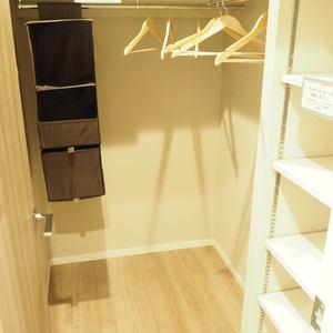 メゾンドール代々木(4階,4099万円)のウォークインクローゼット
