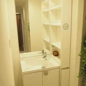 メゾンドール代々木(4階,)の化粧室・脱衣所・洗面室