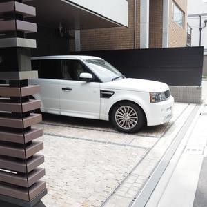 ヴァントヌーベル代々木の駐車場