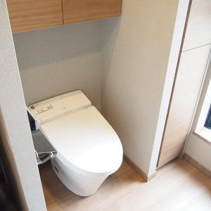 ヴァントヌーベル代々木(5階,7480万円)のトイレ