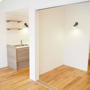 第15宮庭マンション(5階,)の居間(リビング・ダイニング・キッチン)