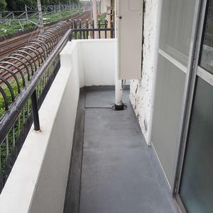 秀和第2神宮レジデンス(4階,3480万円)のバルコニー