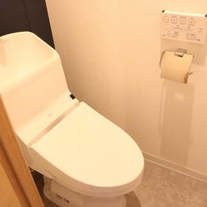 朝日小日向マンション(5階,)のトイレ