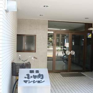 朝日小日向マンションのマンションの入口・エントランス