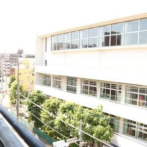 朝日小日向マンション(5階,)のバルコニー