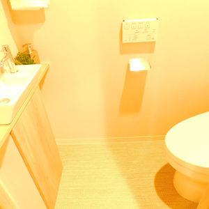 ブランシエラおとめ山公園(3階,)のトイレ