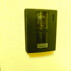ハウス高田馬場(2階,)のフロア廊下(エレベーター降りてからお部屋まで)