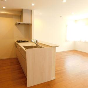 ハウス高田馬場(2階,)の居間(リビング・ダイニング・キッチン)