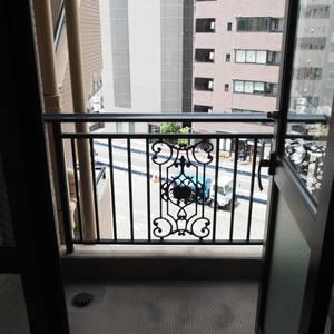 マイキャッスル代々木(5階,)のバルコニー