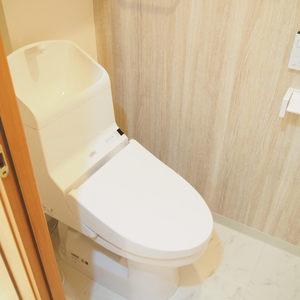 マイキャッスル代々木(5階,)のトイレ