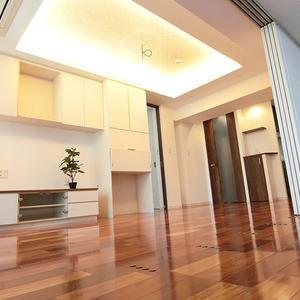 西戸山タワーホウムズノースタワー(2階,)の居間(リビング・ダイニング・キッチン)