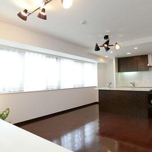 レクセル高田馬場(6階,6660万円)の居間(リビング・ダイニング・キッチン)