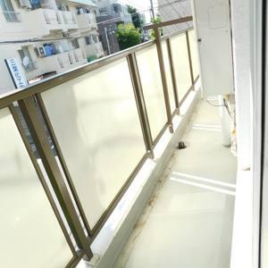 ハウス高田馬場(2階,)のバルコニー