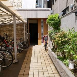 ビレッタ亀戸のマンションの入口・エントランス