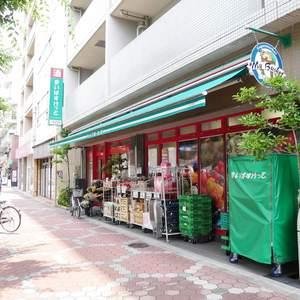 サンハイツ亀戸の周辺の食品スーパー、コンビニなどのお買い物