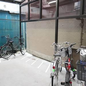 サンハイツ亀戸の駐輪場