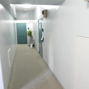 サンハイツ亀戸(5階,3390万円)のフロア廊下(エレベーター降りてからお部屋まで)