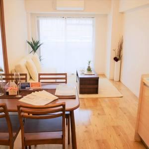 サンハイツ亀戸(5階,3390万円)の居間(リビング・ダイニング・キッチン)