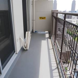 ファミール亀戸(13階,)のバルコニー