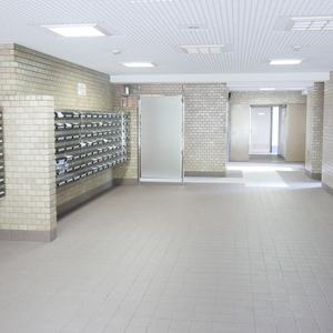 ファミール亀戸のマンションの入口・エントランス