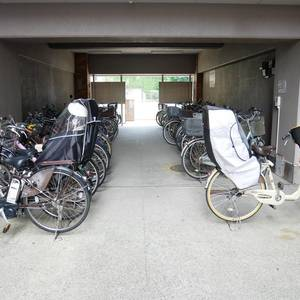 ハピーハイツニュー亀戸の駐輪場