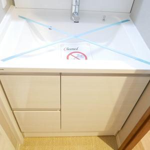 中銀亀戸マンシオン(7階,3380万円)の化粧室・脱衣所・洗面室
