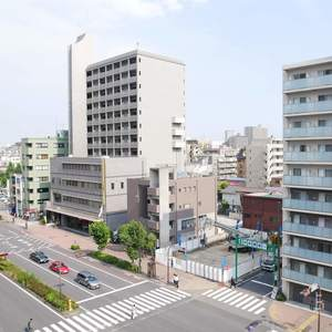 中銀亀戸マンシオン(7階,3380万円)のお部屋からの眺望