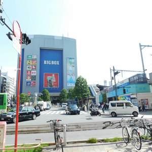 レクセル高田馬場の最寄りの駅周辺・街の様子