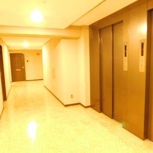 ライオンズマンション池袋(4階,)のフロア廊下(エレベーター降りてからお部屋まで)