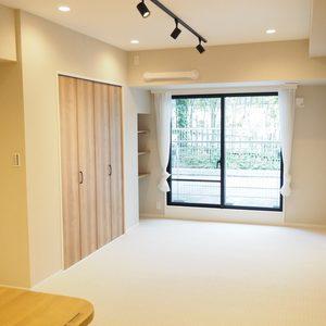 パークノヴァ神宮前(2階,4680万円)の居間(リビング・ダイニング・キッチン)