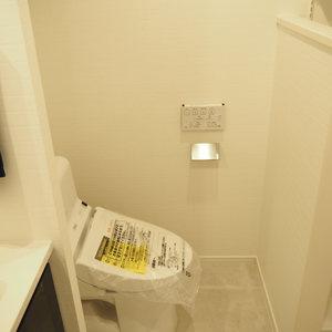 パークノヴァ神宮前(2階,4480万円)のトイレ