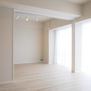 東建ニューハイツ元加賀(10階,4580万円)の居間(リビング・ダイニング・キッチン)