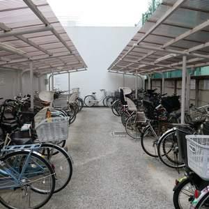 東建ニューハイツ元加賀の駐輪場