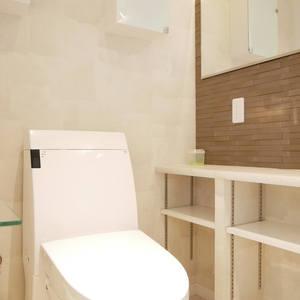 ラクール木場(8階,)のトイレ